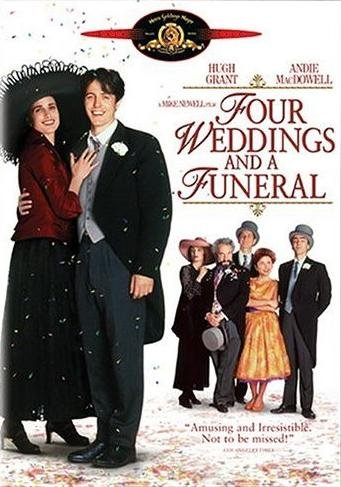 Amazon Com Four Weddings And A Funeral Hugh Grant Hames Fleet