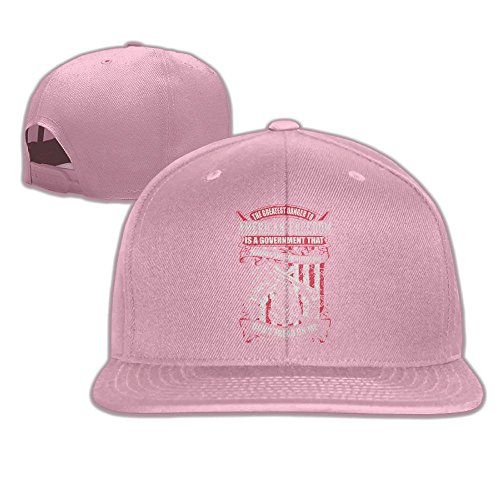 - Yishuo Mens Greatest Danger To American Freedom Mug Classic Jogging Pink Cap Hat Adjustable Snapback