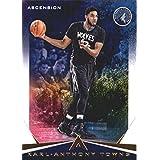 2017-18 Panini Ascension #8 Karl-Anthony Towns Minnesota Timberwolves Basketball Card
