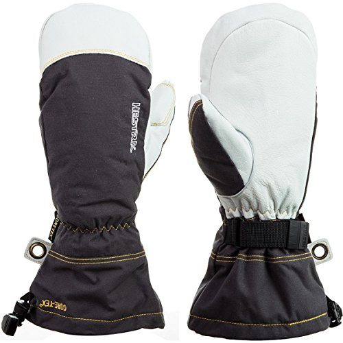 Hestra Army Leather GORE-TEX Mitt, Grey, 6, 31461-350-06 ()