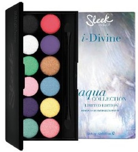 Sleek i-Divine Eyeshadow Palette - Limited Edition Aqua Collection - Lagoon (12 x 1.1g) 845