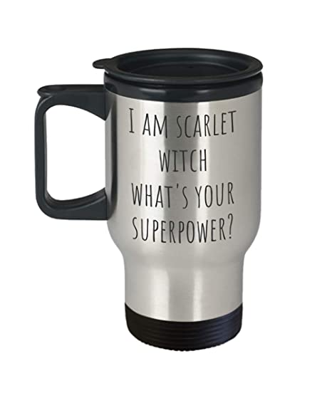 Amazon com: I Am Scarlet Witch What's Your Superpower? Mug