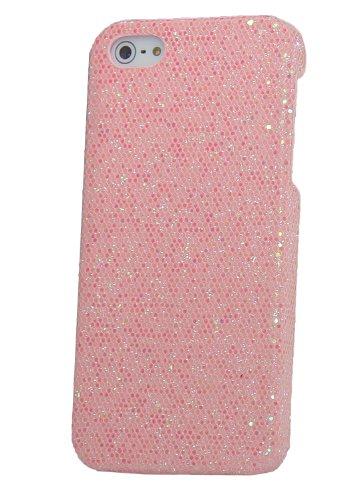 iProtect Schutzhülle iPhone 5 / 5S Case disco rosa glitzernd