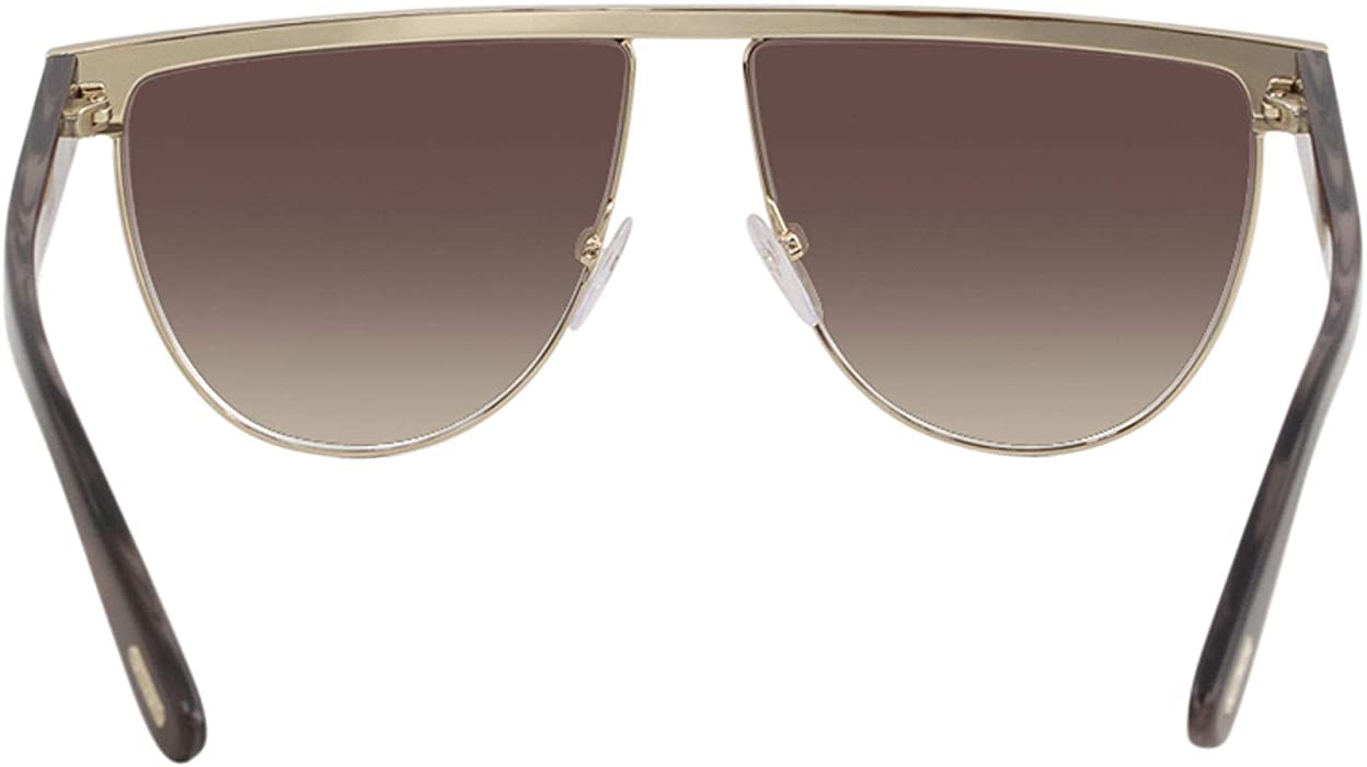 e7152e1a4b63a Sunglasses Tom Ford FT 0570 Stephanie- 02 28Z shiny rose gold ...