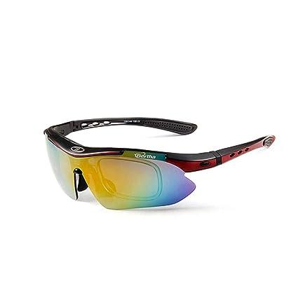 Huijunwenti Gafas de Sol de, Gafas de Ciclismo Profesionales ...
