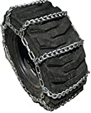 TireChain.com 12 16.5 12-16.5 Ladder Tractor Tire Chains Set of 2