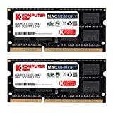 Komputerbay MACMEMORY 8GB Dual Channel Kit 2x 4GB 204pin 1.35v DDR3-1867 SO-DIMM 1867/14900S (1867MHz, CL13) for Apple iMac 27