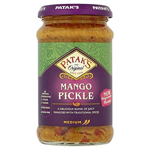 Patak Mango Relish (Patak's Mango Pickle - 283g (pack of 2))