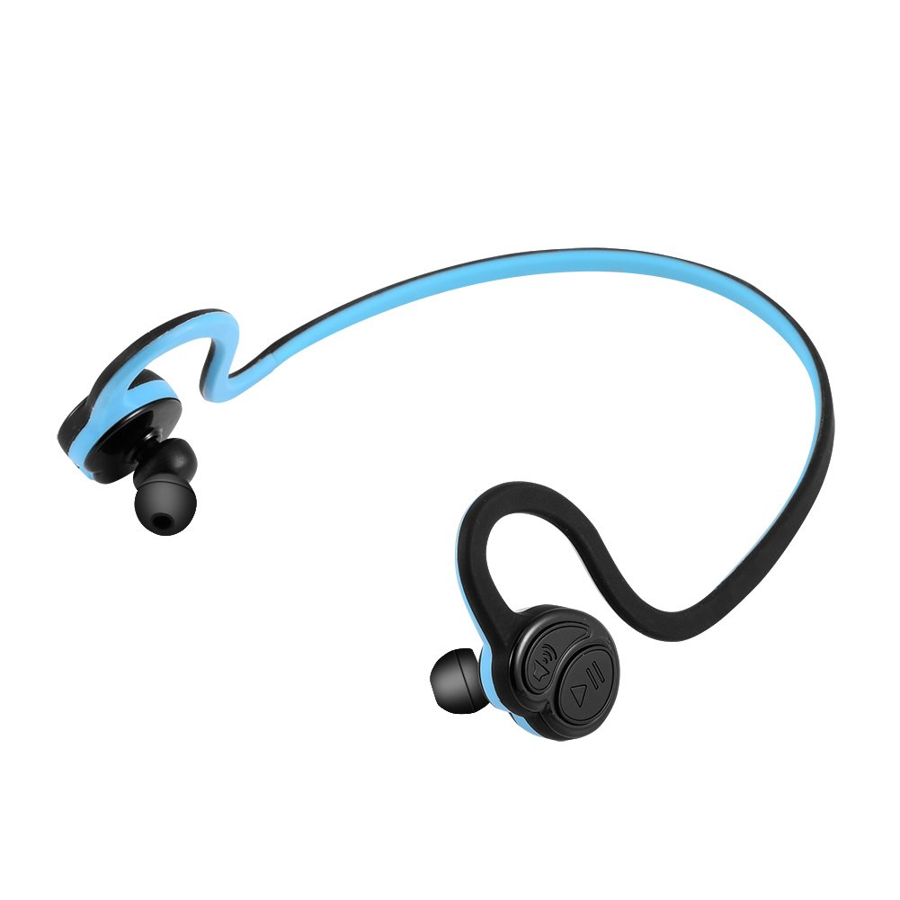 Zerone HV 600 Bluetooth Neckband Headphones, CSR8645 V4.0 Bluetooth Headphones Wireless Sports Headphones HD Stereo In-ear Earphones with Mic