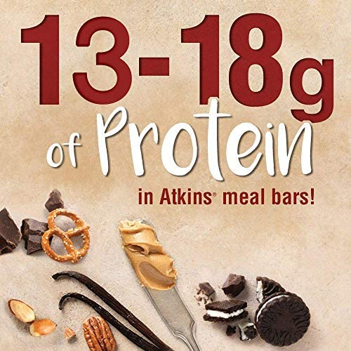 Atkins Protein Meal Bar, Chocolate Almond Caramel, Keto Friendly, 5 Count 4