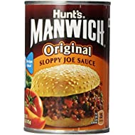 Hunt's Manwich Sloppy Joe Sauce, Original, 15 Oz (Pack of 3)