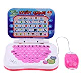 GreenSun TM Chinese English Learning Machine Study Game Computer Tablet Early Educational Kids Pronunciation Learning Laptop with Mouse