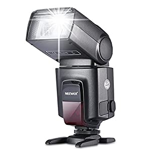 Neewer TT560 Flash Speedlite for Canon Nikon Sony Panasonic Olympus Fujifilm Pentax Sigma Minolta Leica and Other SLR Digital SLR Film SLR Cameras and Digital Cameras with single-contact Hot Shoe