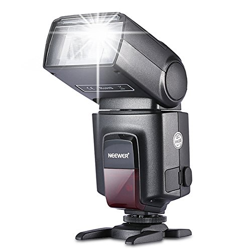 Neewer TT560 Flash Speedlite for Canon Nikon Panasonic Olympus Pentax and Other DSLR...