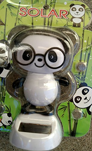 UPC 793631199242, Solar Powered Dancing Panda (With Glasses) by Dollar Emporium