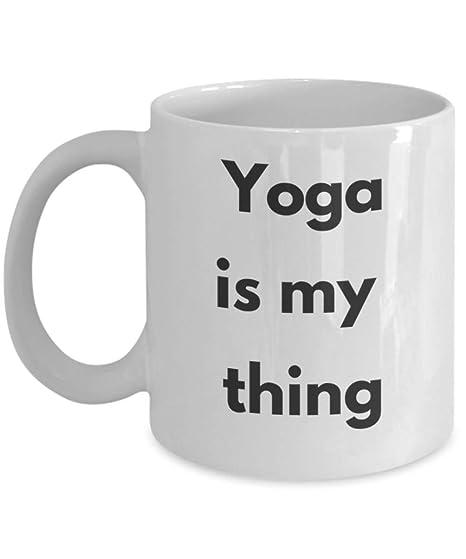 Amazon.com: Best Yoga Coffee Mug Best Yoga Mug Funny Yoga ...