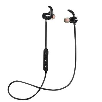 dkey con micrófono XY7 Bluetooth 4.1 con Micrófono - magnéticos con clip para montaje interno Lobo - Android y iPhone, Huawei Samsung OnePlus Sony: ...