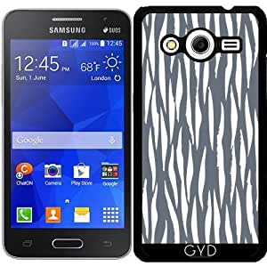 Funda para Samsung Galaxy Core 2 SM-G355 - Azul Del Estampado De Animales 07 by Aloke Design