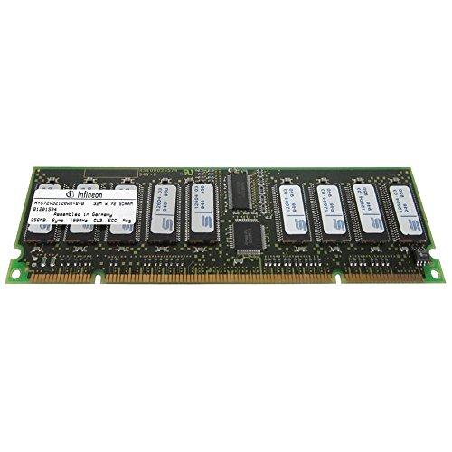 256MB (1X256MB) PC100 ECC Registered 168