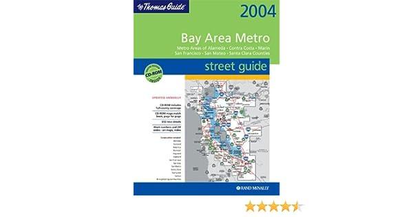 Thomas Guide Bay Area Metro Street Guide Metro Areas Of - Us paper map thomas guide