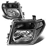 Nissan Frontier / Pathfinder Pair of Headlight (Black Housing Clear Corner) - 2nd gen D40