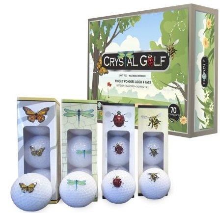 - Crystal Golf BallsWinged Wonders 1 Dozen
