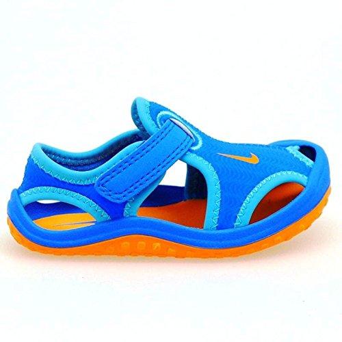 Niño 418 Agua De Sandalia Azul es Nike Sunray NaranjaAmazon 0PXnwO8k