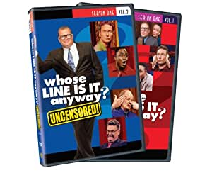 Whose Line Is It Anyway: Season 1, Vol. 1 and 2 (Uncensored) [Import]