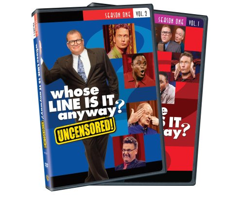 Whose Line Is It Anyway : Season 1, Vol. 1 and 2 (Uncensored)