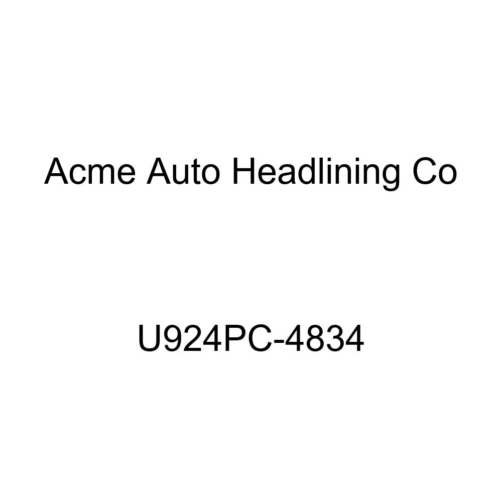 Acme U924PC-4834 Front and Rear Chocolate Vinyl Bench Seat Upholstery