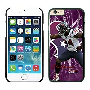 NFL Case Cover For Apple Iphone 5/5S Houston Texans Antonio Smith Black Case Cover For Apple Iphone 5/5S Cell Phone Case ONXTWKHB1752