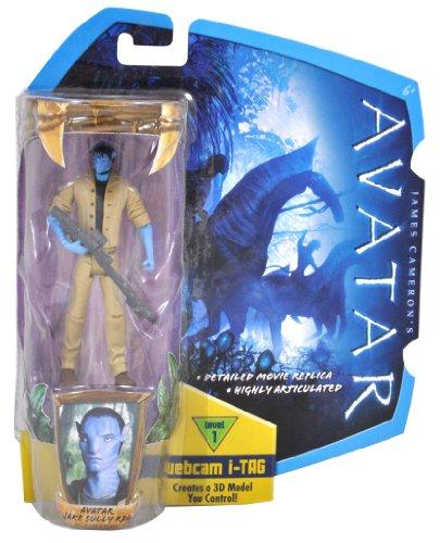 Avatar 4 inch Avatar Jake Sully RDA w iTag ()