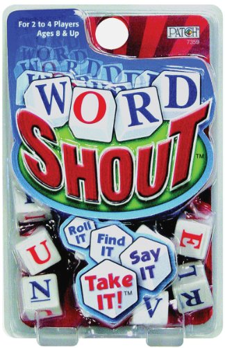 Word Shout Dice Game - Letter Dice Shopping Results