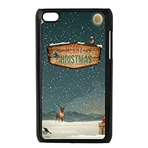 Merry Christmas Raindeer Presents iPod Touch 4 Case Black&Phone Accessory STC_099357