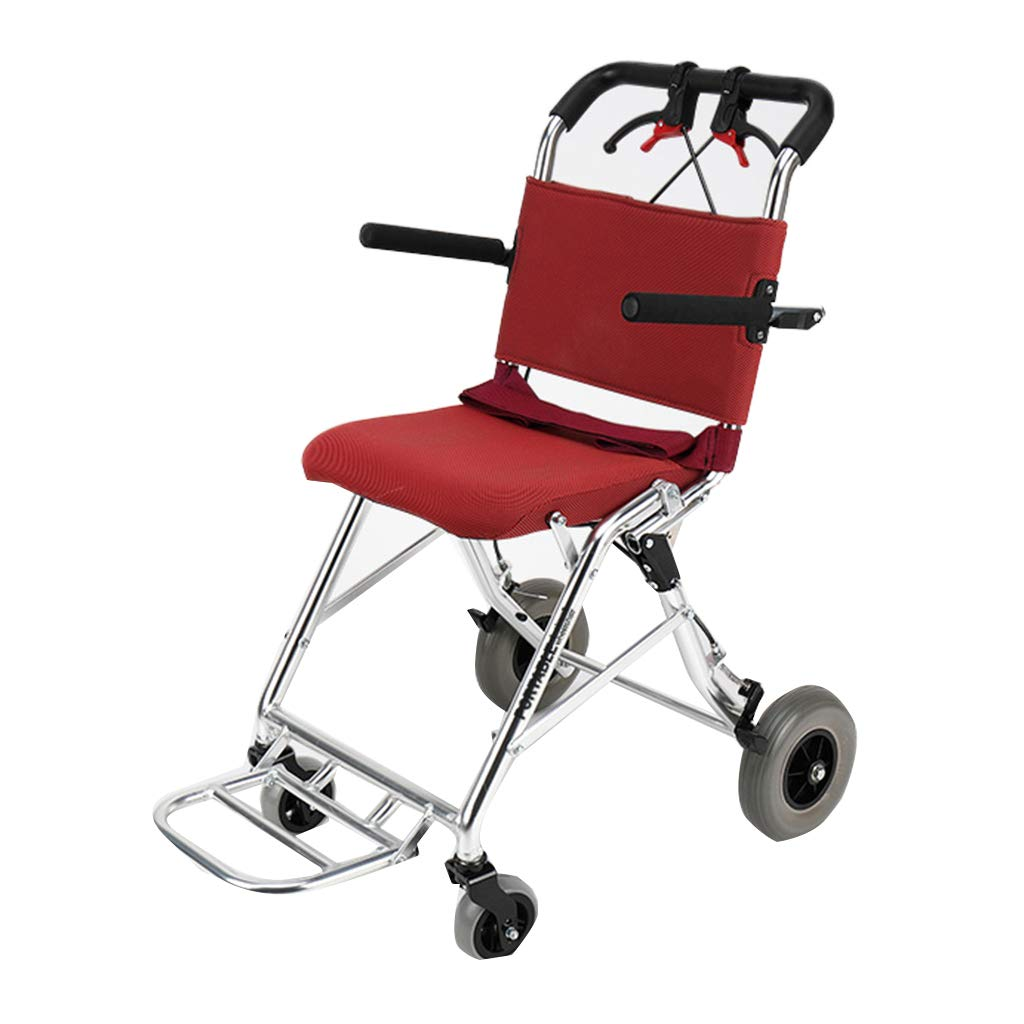 品質検査済 自走用車いす 車いすトラベルチェアトロリー 車いす高齢者マニュアル折りたたみ式スクーター Red トラベルチェア高齢者用トロリー 折りたたみ式 耐荷重100kg 最高ギフト 53*65*88cm) 自走用車いす (Color 最高ギフト : Red, Size : 53*65*88cm) 53*65*88cm Red B07LG4LWQ4, 店舗良い:eb462d5a --- a0267596.xsph.ru