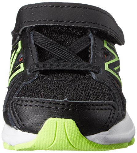 New Balance kv690 gancho y bucle Zapatilla de Running infantil (Infant/toddler) Negro