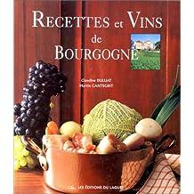 Recettes et vins de bourgogne