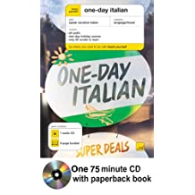 Teach Yourself One-Day Italian (Book + 1CD)
