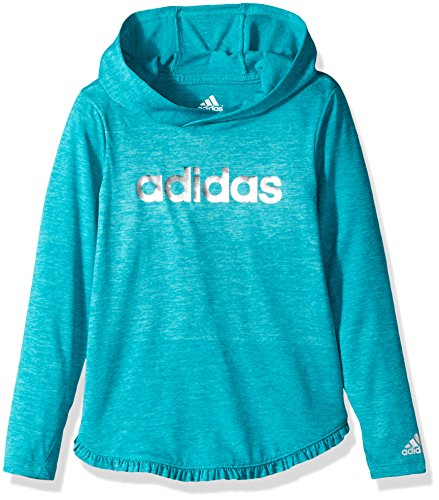adidas-little-girls-hooded-long-sleeve-top-shock-green-heather-5