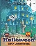 Halloween Coloring Book: Halloween Adult Coloring Book (Happy Halloween Designs)