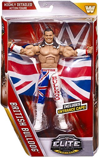 WWE Elite # 39 British Bulldog [parallel import goods]