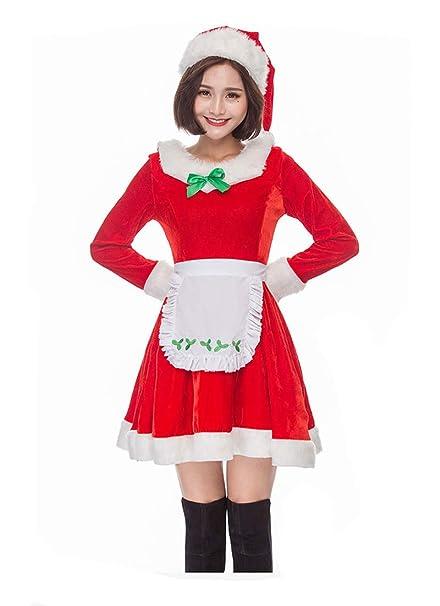 Amazon.com: BADI NA - Disfraz de Navidad para mujer o adulto ...