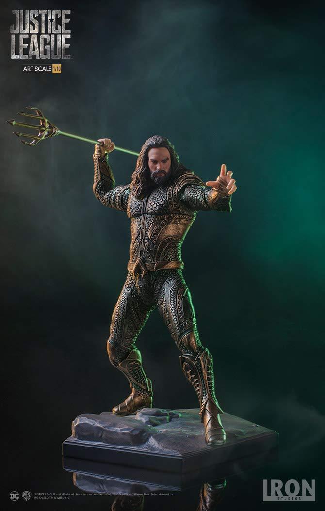 Iron Studios Art Scale Aquaman Justice League 1//10 IS300775