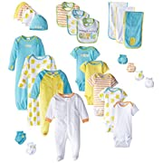 Gerber Baby 26 Piece Essentials Gift Set, Green, New Born/0-3 months