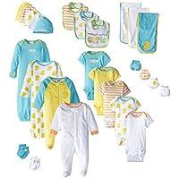 Gerber Baby 26 Piece Essentials Gift Set, Green, New Born/0-3 months