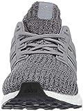 adidas Men's Ultraboost, Grey/Grey/Black, 4 M US