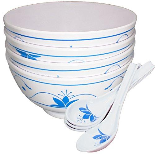 Chef Miso Melamine Bowls Spoons