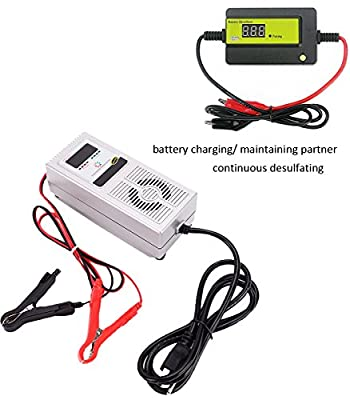 48V 3A automatic e-bike, scooter & electric vehicle battery charger maintainer