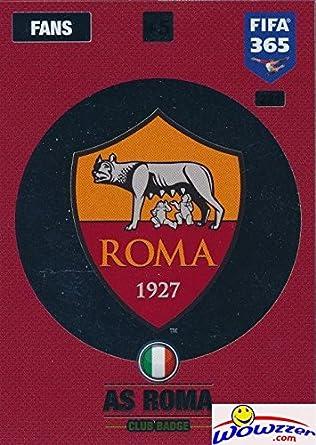 Panini 365 Adrenalyn XL 2017 Club Badge AS Roma No 221