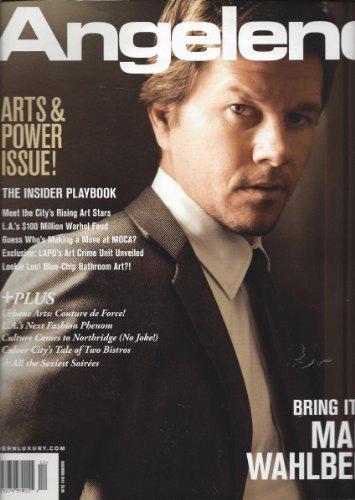 Mark Walhberg Angeleno Magazine November 2009